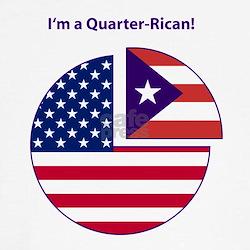 Quarter Rican Tee