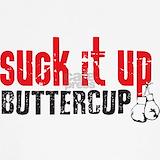 Suck it up buttercup Tank Tops