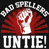 Bad spellers untie T-shirts