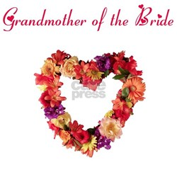 Grandmother of the Bride Shirt