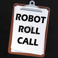 Robot Roll Call Tee