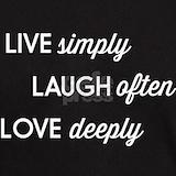 Live laugh love T-shirts
