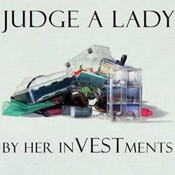 """""""Judge A Lady By Her Investments"""" Ringer T-shirt"""