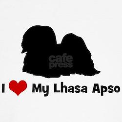 I Love My Lhasa Apso T