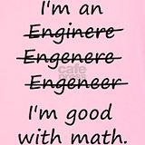 Engineering good at math Tank Tops
