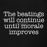 The beatings will continue until morale improves Tank Tops
