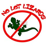 Lot lizard T-shirts