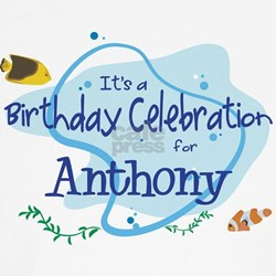 Celebration for Anthony (fish Shirt