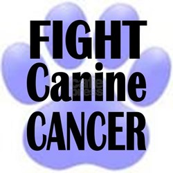 Fight Canine Cancer - T-Shirt