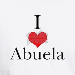 I Love (Heart) Abuela Shirt