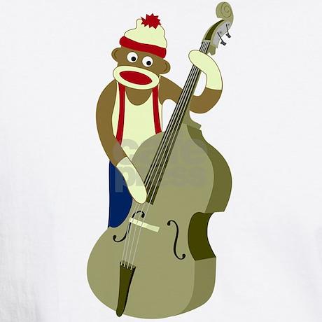 sock_monkey_upright_bass_player_white_tshirt.jpg?color=White&height ...