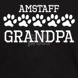 Amstaff grandpa T-shirts