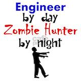 Engineer and zombies Pajamas & Loungewear