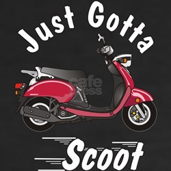 Just Gotta Scoot Vino Shirt