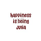 happiness is being Julia Coffee Mug