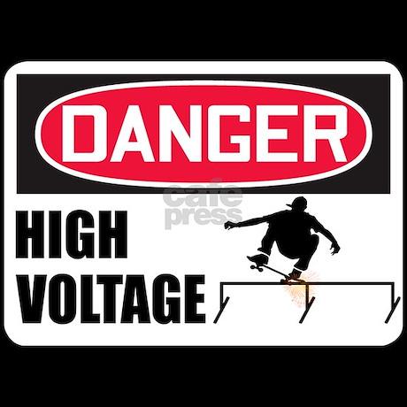 Danger High Voltage! Pajamas by sk8dawgmerchturf