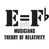 Musicians theory of relativity T-shirts
