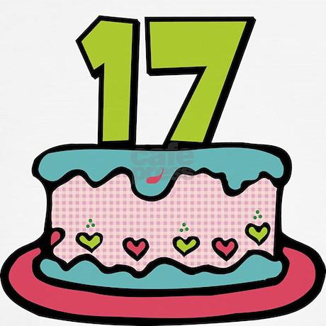 17 birthday cake