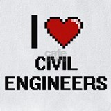 I love civil engineers Bib