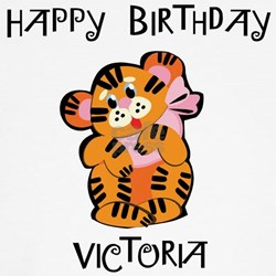 Happy Birthday Victoria (tige T