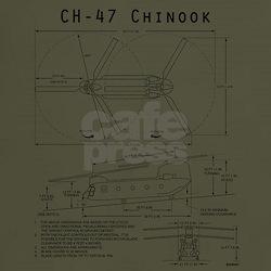 Chinook diagram t-shirt