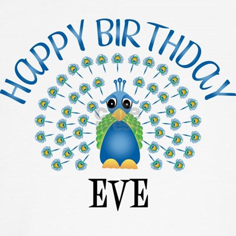 Happy Birthday EVE (peacock) Boxer Shorts by birthdaydesigns