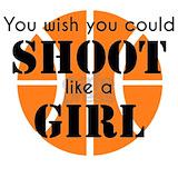 Basketball shoot like a girl Sweatshirts & Hoodies