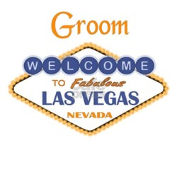 Las Vegas Groom Shirt