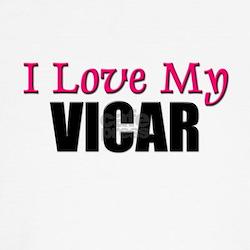 I Love My VICAR T-Shirt