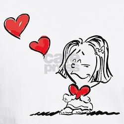 Blow Kisses Valentine Couple Shirt