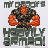Bodybuilding Baby Bodysuits