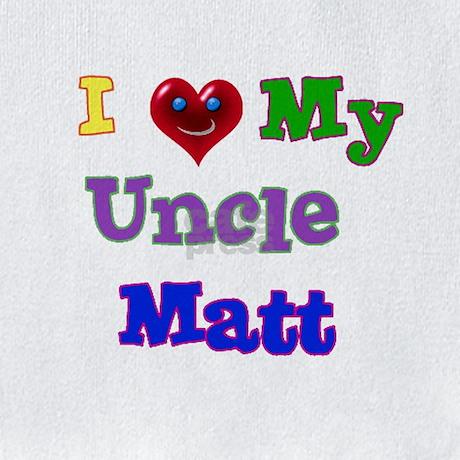 I Love My Uncle Matt Bib By Turtlebugs3