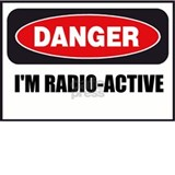 Danger - I'm Radio Active Small Mug