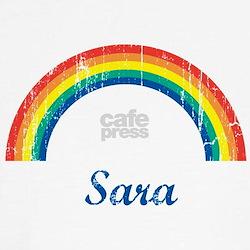 Sara vintage rainbow Tee