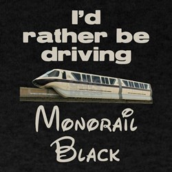 Monorail Black T-Shirt