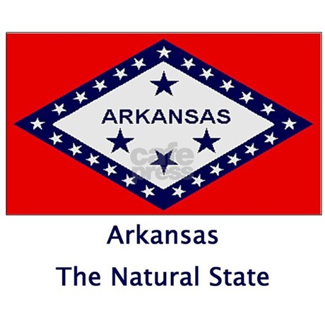 Arkansas state flag bbq apron by janetsgirl for Arkansas state flag coloring page