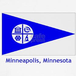 Minneapolis MN Flag T