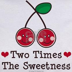 Doubly Sweet Cherry Twin Tee