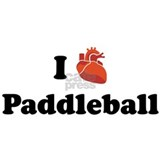 I (Heart) Paddleball Mug