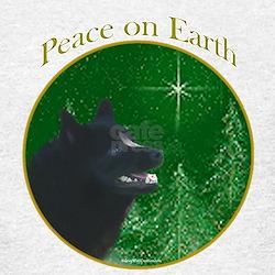 Schipperke Peace T-Shirt