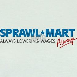 Sprawl-Mart - Jr. Ringer T-shirt