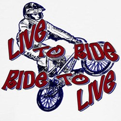 Live to Ride Tee