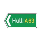 Hull Roadmarker, UK Mug