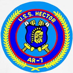 USS Hector (AR 7) T
