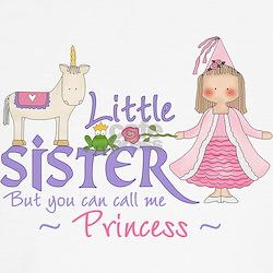 Unicorn Princess Little Sister T