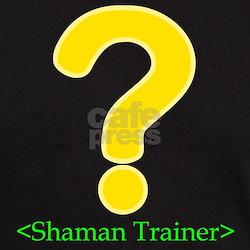 Shaman Trainer Black T-Shirt for gamers