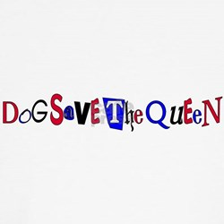 Dog Save the Queen T