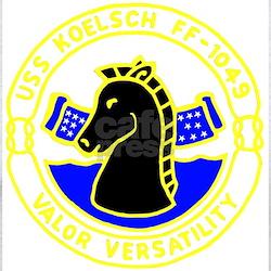 USS Koelsch (FF 1049) T-Shirt