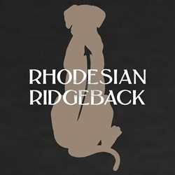 Ridgeback w/ Text Shirt