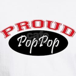 Proud PopPop (black & red) Shirt